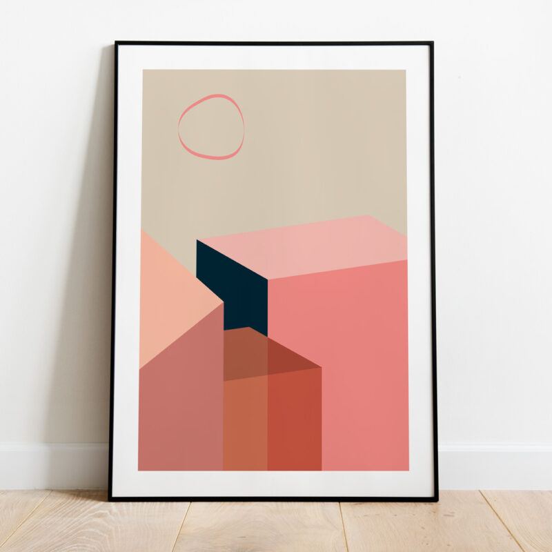 The art print Coral Objects 02