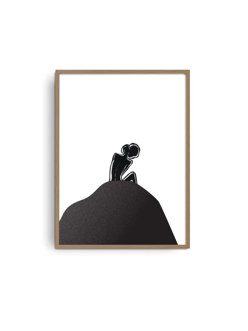 E 02 Giclée Fine Art print